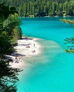 Jezioro Lago di Tovel, Włochy