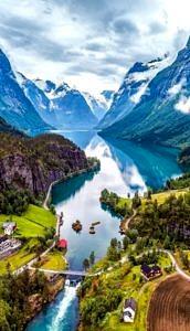 Stryn, Norwegia