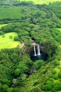 Wailua Falls, Kauai, Hawaje