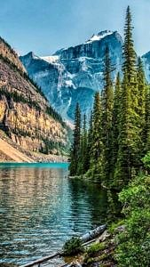 Jezioro Moraine, Kanada
