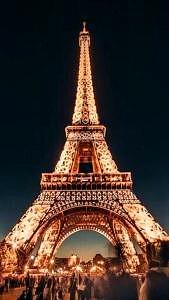Paryż Francja Wieża Eiffla