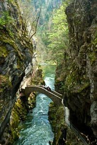 Gorges de l'Areuse, Boudry, Szwajcaria
