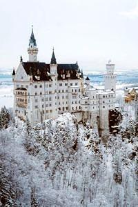 Neuschwanstein, Zamek w Schwangau, Niemcy