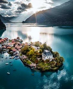 Iseltwald Szwajcaria