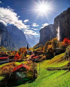 Lauterbrunnen Szwajcaria