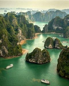 Zatoka Ha Long Wietnam
