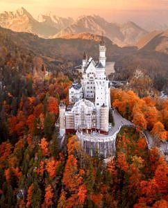 Zamek Neuschwanstein Niemcy