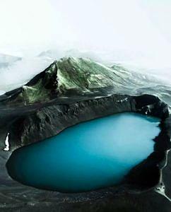 Wulkan Askja Islandia
