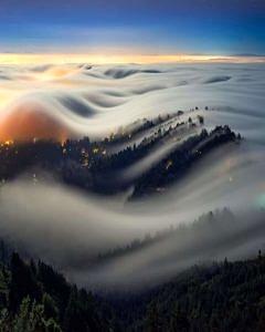 Góra Tamalpais Kalifornia USA
