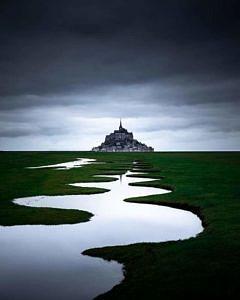 Mont Saint-Michel  Francja
