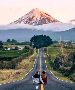 Wulkan Taranaki  Nowa Zelandia