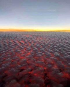 Zachód Słońca Nad Hawajami