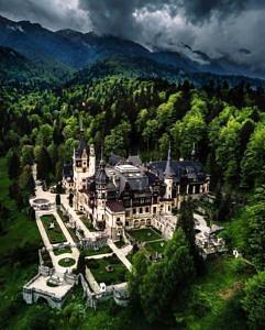 Zamek Peles Rumunia