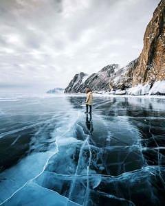 Jezioro Bajkał , Rosja