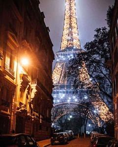 Wieża Eiffla , Paryż , Francja